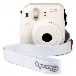 Fujifilm Instax Mini 8 Polaroid Camera (White) + Mystery Gift