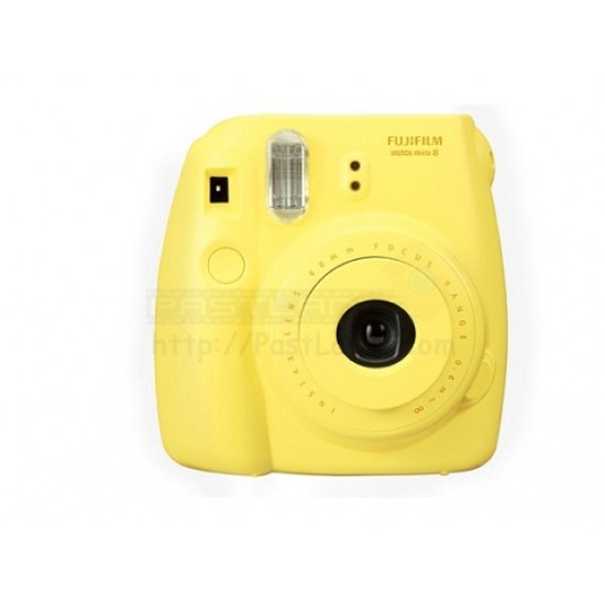 Fujifilm Instax Mini 8 Polaroid Camera (Yellow) + Mystery Gift