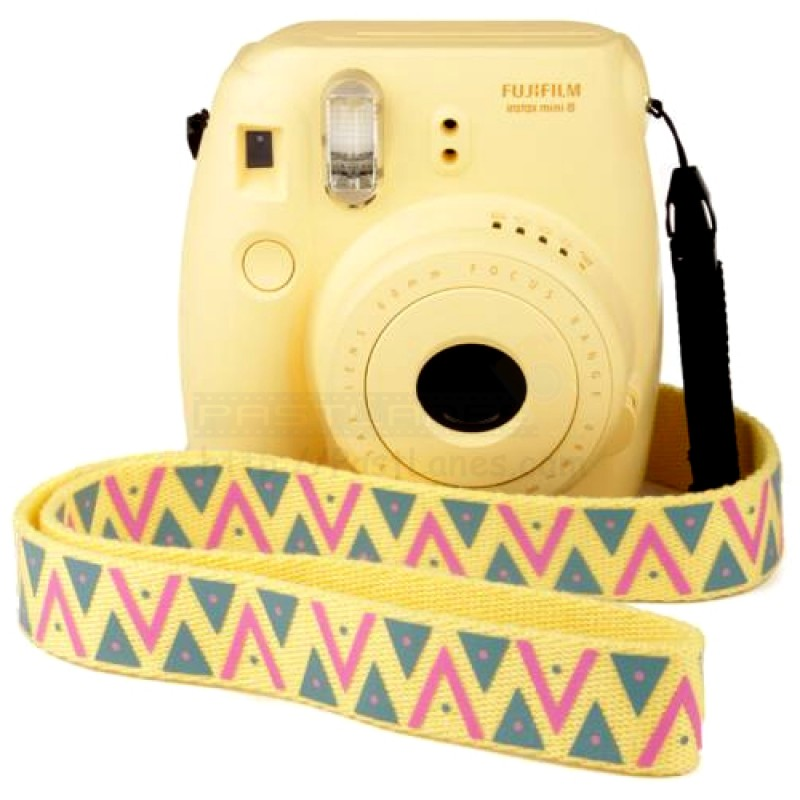 fujifilm instax mini 8 polaroid camera yellow mystery gift. Black Bedroom Furniture Sets. Home Design Ideas