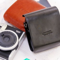 Leather Bag For Instax Mini 90