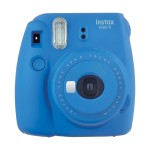 Fujifilm Instax Mini 9 Polaroid Camera (Cobalt Blue) + Mystery Gift