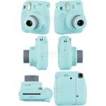 Fujifilm Instax Mini 9 Polaroid Camera (Ice Blue) + Mystery Gift