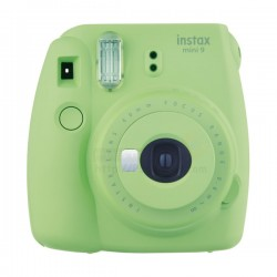 Fujifilm Instax Mini 9 Polaroid Camera (Lime Green) + Mystery Gift