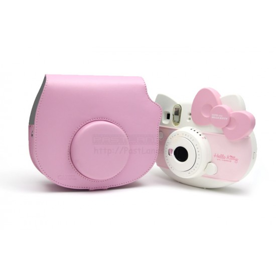 Leather Bag For Instax Mini Hello Kitty