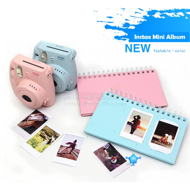 Color Scrapbook Album For Instax Mini Film