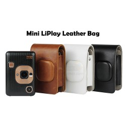 Leather Bag For Instax Mini LiPlay