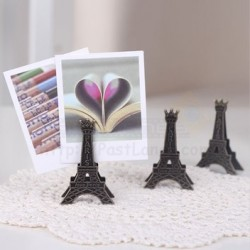 Paris Eiffel Tower Photo Clip Holder Stand