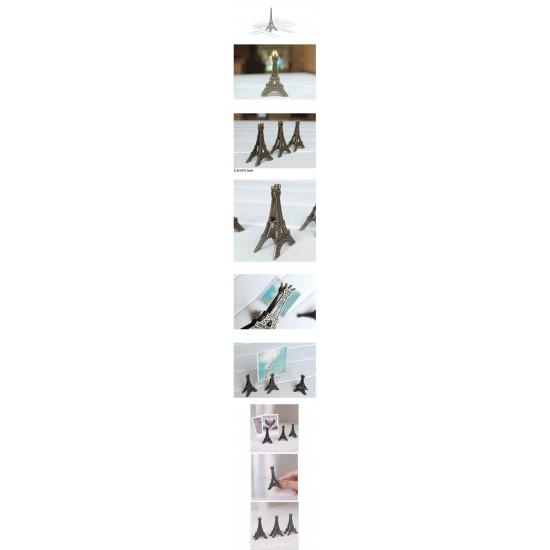 Paris Eiffel Tower Photo Clip Holder Stand