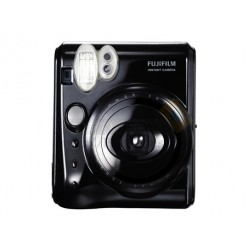 Fujifilm Instax Mini 50S Piano Polaroid Camera (Black) + Mystery Gift