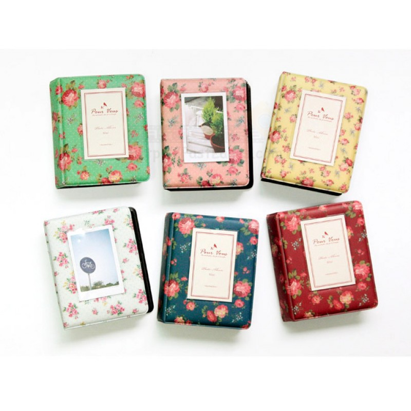 Rose Mini Polaroid Album For Instax Mini Film 641 Slots