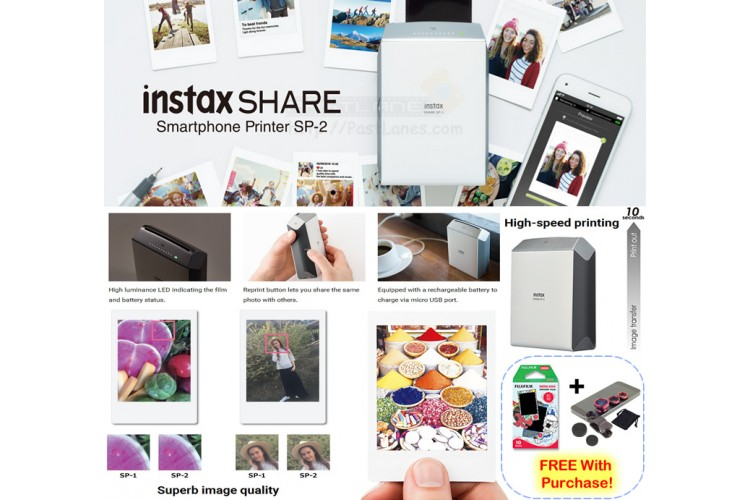 New Instax Share Printer SP-2