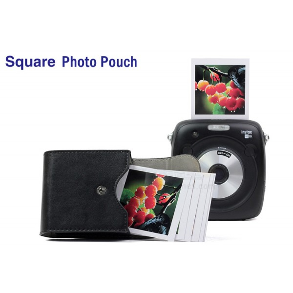 Square Photo Pouch