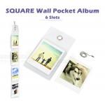 Wall Pocket Album For Instax SQUARE Film