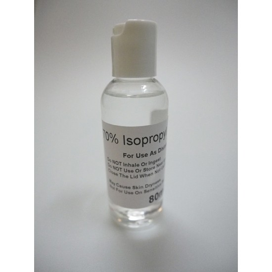 70% Isopropyl Alcohol Sanitizer Disinfectant Kill 99.9% Germs, Coronavirus, Bacteria, Virus
