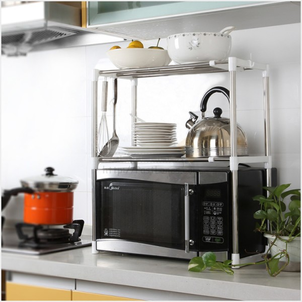 Kitchen Microwave Rack