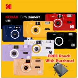 Kodak M38 Film Camera + FREE Pouch & Pin Tag
