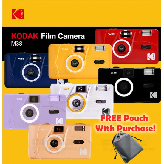 Kodak M38 Film Camera + FREE Pouch