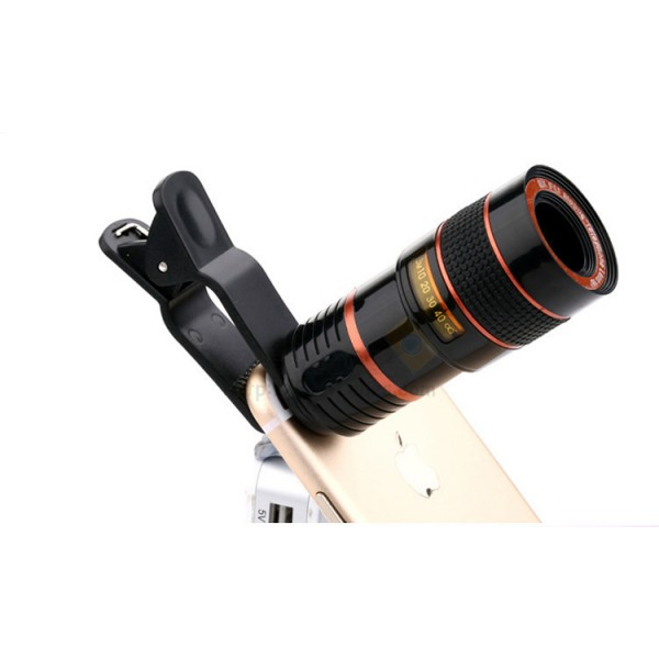 Universal Telephoto Zoom Lens For Mobile Phone