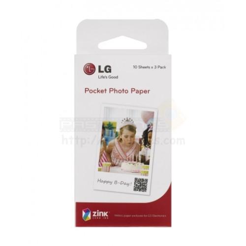 LG Photo Paper For LG Pocket Printer PS2203 Zink Paper