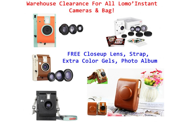 Lomo'Instant Clearance Sales!