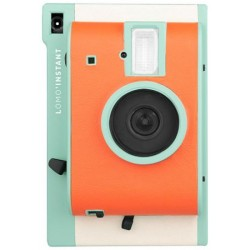 Lomo'Instant (Orange-Teal Special Edition) + FREE Closeup Lens +FREE Extra Color Gel +FREE Strap