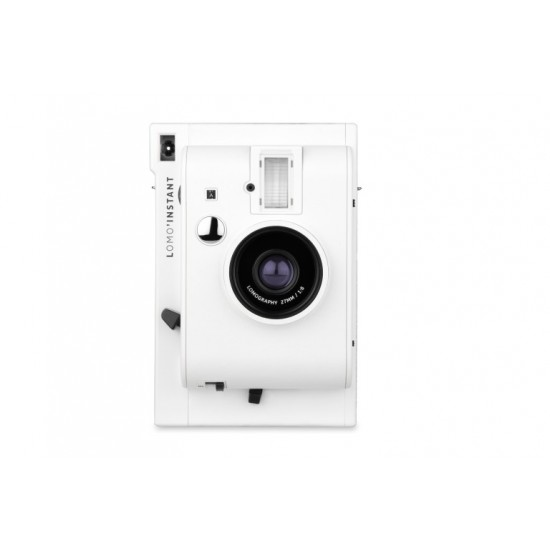 Lomo'Instant (White) + 3 Lenses +FREE Extra Color Gel +FREE Strap