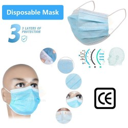 3 Ply Sterilized Disposable Face Mask [50pcs]