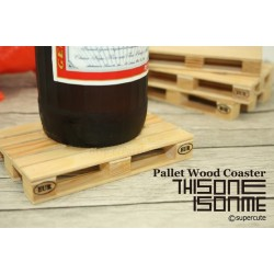 Pallet Wood Coaster (Set Of 4)