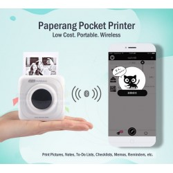 [Back Order] Paperang Mobile Instant Photo Printer