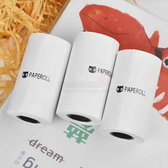 Original Paperang Sticker Thermal Paper (3 Rolls) For Paperang / Comicam / Peripage / Receipt Printer