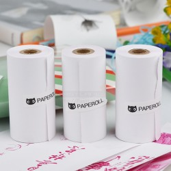 Original Paperang Pink Thermal Paper (3 Rolls) For Paperang / Comicam / Receipt Printer
