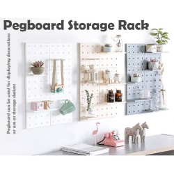 Pegboard Wall Storage