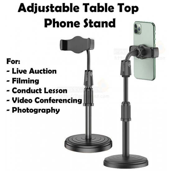 Table Top Adjustable Mobile Phone Holder Stand