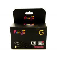 Hiti Pringo P231 Transparent Photo Paper And Ink Ribbon (Gold 30 Sheets)