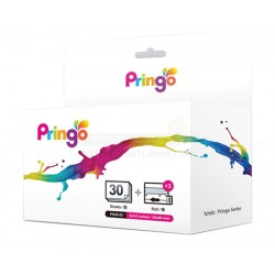 Hiti Pringo P231 Photo Paper And Ink Ribbon (Silver 30 Sheets)