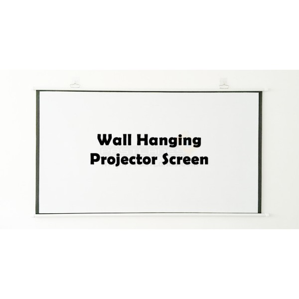 Wall Mount Hanging Projector Screen