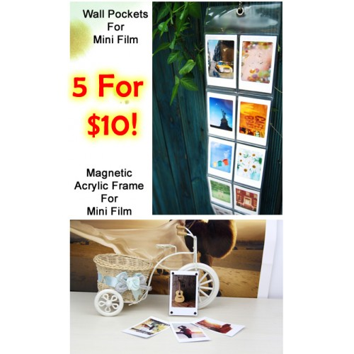 [Promo] $10 for 5 Wall Photo Album Or Acrylic Magnetic Photo Frame