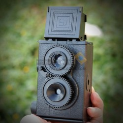 Recesky Twin Lens Reflex (TLR) Lomo Camera [DIY]