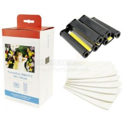 Compatible KP-108IN Color Ink Photo Paper Set For Canon Selphy Printer