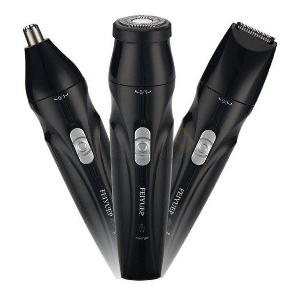 USB Rechargeable 3 In 1 Shaver
