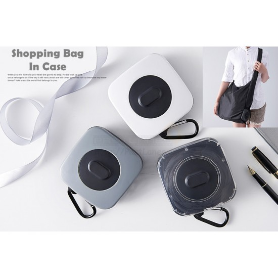 Foldable Shopping Bag In A Case