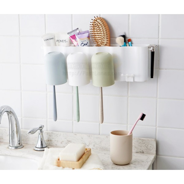 Toothbrush & Rinsing Cup Holder