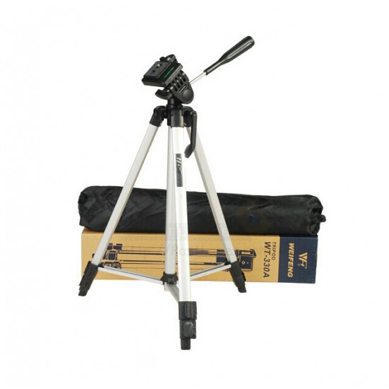 Weifeng WT-330A Lightweight Tripod + FREE Phone Holder