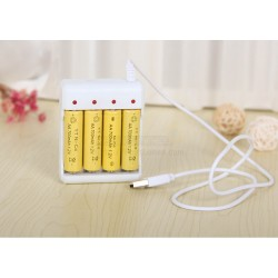 USB Charger For AA/AAA Rechargeable Batteries