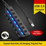 7 Ports USB 3.0 Hub