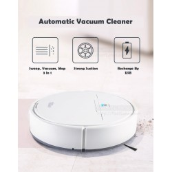 USB Rechargeable Clean Robot Vacuum Cleaner