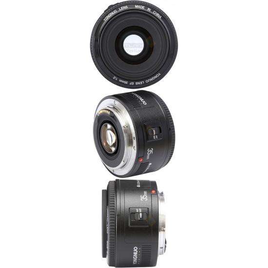 Yongnuo YN 35mm f/2 Lens For Canon EF Mount