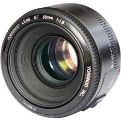 Yongnuo YN 50mm f/1.8 Lens For Canon EF Mount