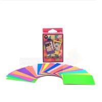 Instax Film Skin Sticker (Fluorescent Colours) [Mini Film]