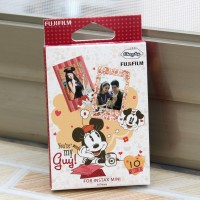 Instax Film Skin Sticker (Mickey & Minnie) [Mini Film]